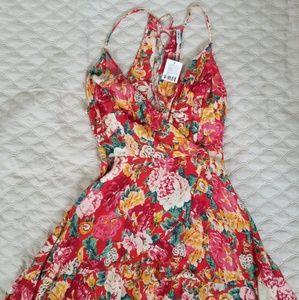 Urban Outfitters Floral Dress size 10